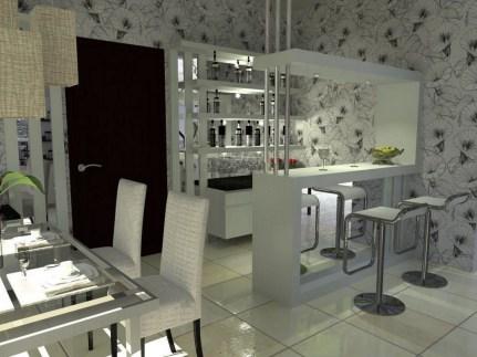 Gorgeous Minibar Designs Ideas For Your Kitchen15