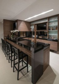 Gorgeous Minibar Designs Ideas For Your Kitchen19