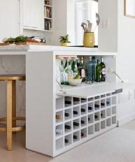 Gorgeous Minibar Designs Ideas For Your Kitchen31
