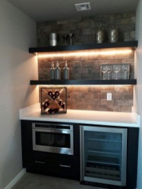 Gorgeous Minibar Designs Ideas For Your Kitchen37