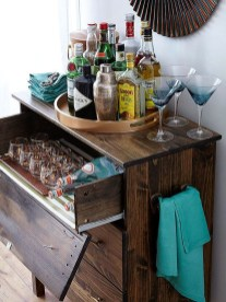 Gorgeous Minibar Designs Ideas For Your Kitchen39
