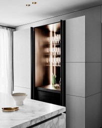 Gorgeous Minibar Designs Ideas For Your Kitchen41
