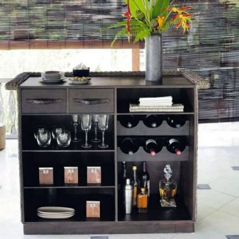 Gorgeous Minibar Designs Ideas For Your Kitchen44