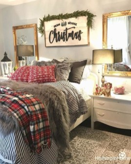 Impressive Christmas Bedding Ideas You Need To Copy09