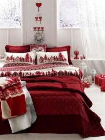Impressive Christmas Bedding Ideas You Need To Copy13