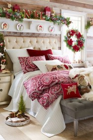 Impressive Christmas Bedding Ideas You Need To Copy29