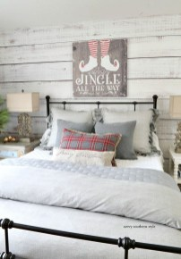 Impressive Christmas Bedding Ideas You Need To Copy38
