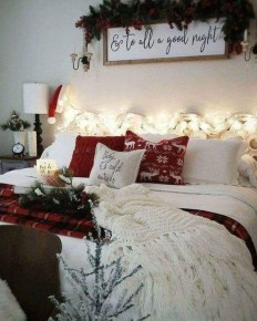 Impressive Christmas Bedding Ideas You Need To Copy40