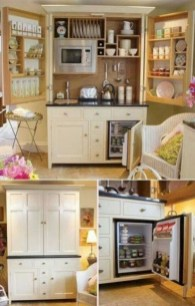 Impressive Minimalist Kitchen Design Ideas For Tiny Houses38
