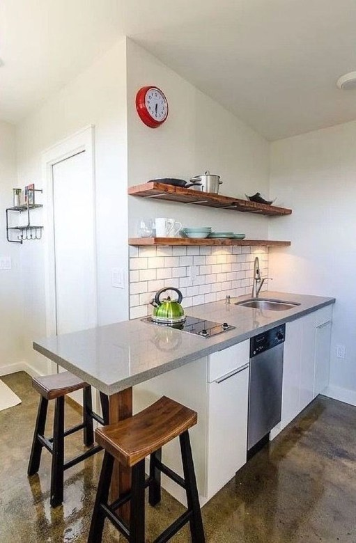 Impressive Minimalist Kitchen Design Ideas For Tiny Houses48