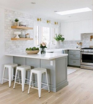 Island Kitchen Design Ideas Attractive For Comfortable Cooking33
