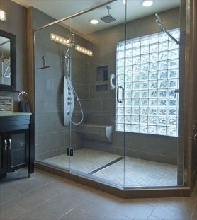 Amazing Small Glass Shower Design Ideas For Relaxing Space20
