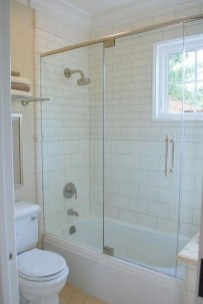 Amazing Small Glass Shower Design Ideas For Relaxing Space28