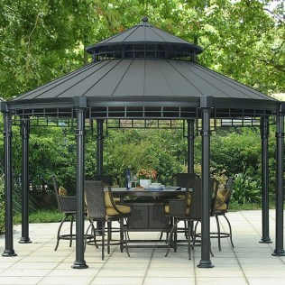 Attractive And Unique Gazebo Ideas That You Must Know06