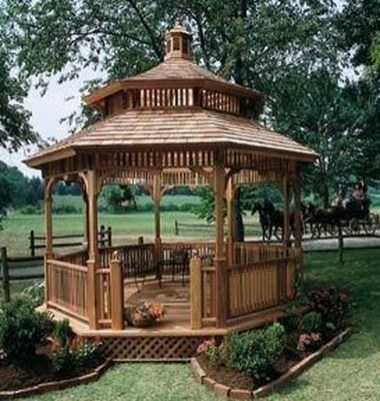 Attractive And Unique Gazebo Ideas That You Must Know45