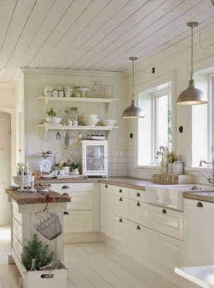 Awesome Farmhouse Kitchen Cabinet Design Ideas You Should Know That08