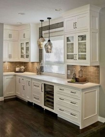 Awesome Farmhouse Kitchen Cabinet Design Ideas You Should Know That12