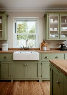 Awesome Farmhouse Kitchen Cabinet Design Ideas You Should Know That27
