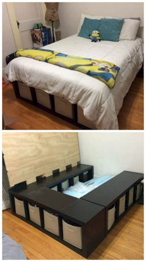 Awesome Storage Design Ideas In Your Bedroom37