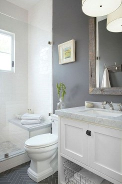 Best Gray And White Bathroom Ideas For06