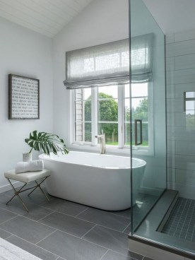 Best Gray And White Bathroom Ideas For08