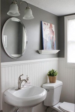 Best Gray And White Bathroom Ideas For09