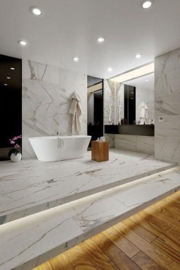 Best Gray And White Bathroom Ideas For15