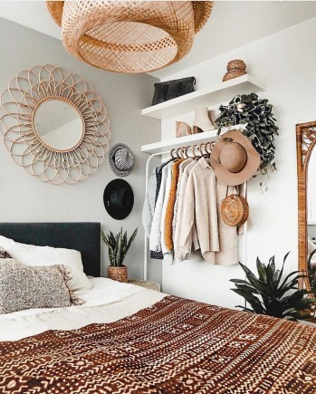 Bohemian Bedroom Decoration Ideas46