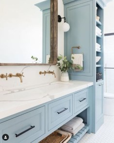 Charming French Country Bathroom Design And Decor Ideas On A Budget28