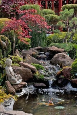 Fabulous Fish Pond Design Ideas For Your Home Yard06