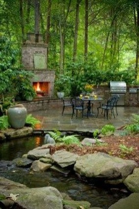 Fabulous Fish Pond Design Ideas For Your Home Yard07