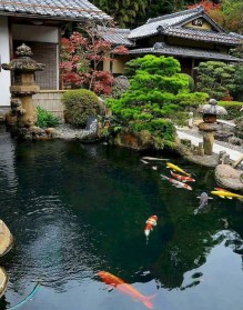 Fabulous Fish Pond Design Ideas For Your Home Yard10