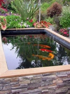 Fabulous Fish Pond Design Ideas For Your Home Yard30