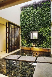 Fabulous Fish Pond Design Ideas For Your Home Yard31