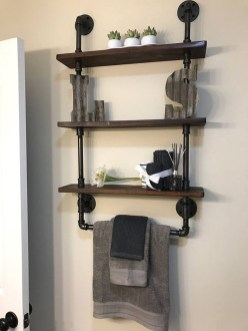 Industrial Bathroom Shelves Design Ideas02