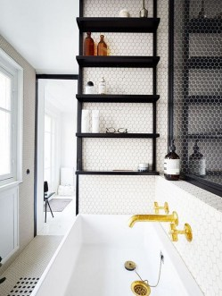 Industrial Bathroom Shelves Design Ideas04