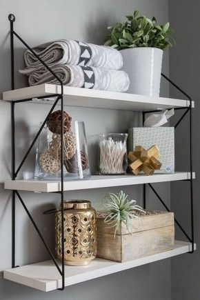Industrial Bathroom Shelves Design Ideas06