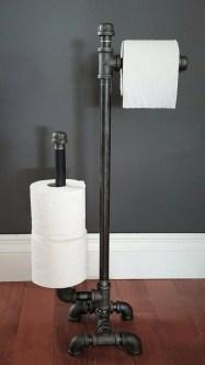 Industrial Bathroom Shelves Design Ideas14