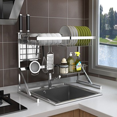 Lovely Kitchen Rack Design Ideas For Smart Mother33