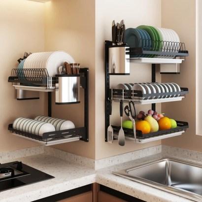 Lovely Kitchen Rack Design Ideas For Smart Mother35