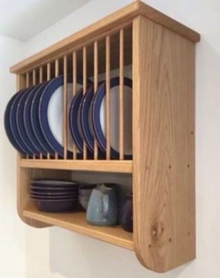 Lovely Kitchen Rack Design Ideas For Smart Mother49