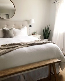 Make Your Bedroom Cozy With Neutral Bedroom Decorations20