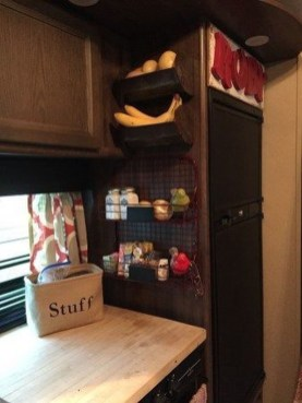 Simple Rv Camper Storage Design Ideas For Your Travel27