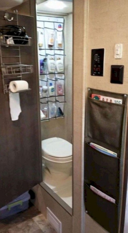 Simple Rv Camper Storage Design Ideas For Your Travel46