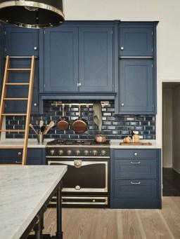Wonderful Blue Kitchen Design Ideas07