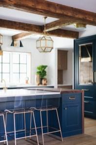 Wonderful Blue Kitchen Design Ideas13