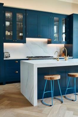 Wonderful Blue Kitchen Design Ideas17