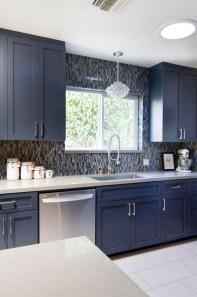 Wonderful Blue Kitchen Design Ideas23