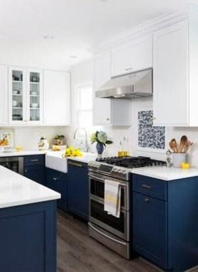 Wonderful Blue Kitchen Design Ideas24