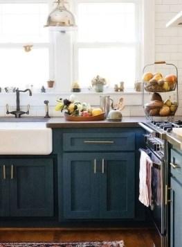 Wonderful Blue Kitchen Design Ideas35